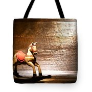 The Old Rocking Horse In The Attic Tote Bag