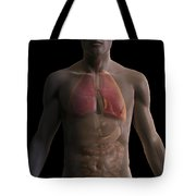 The Respiratory And Digestive Systems Tote Bag