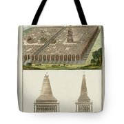 The Seven Wonders Of The World Tote Bag