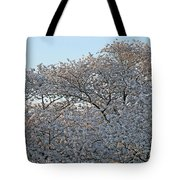The Simple Elegance Of Cherry Blossom Trees Tote Bag