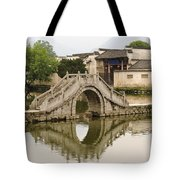The South Lake In Hongcun Village Tote Bag