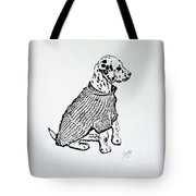 The Sweater Girl Tote Bag