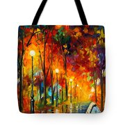 The Symphony Of Light Tote Bag
