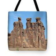 The Three Gossips Tote Bag