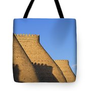 The Walls Of The Ark At Bukhara In Uzbekistan Tote Bag