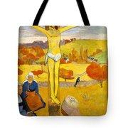 The Yellow Christ Tote Bag