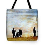 They Gather Here Tote Bag by Diana Angstadt