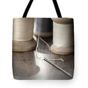Thread And Needle Tote Bag