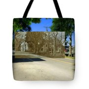 Thursday Thrift Shop And The Commons In Little Compton Rhode Island Tote Bag