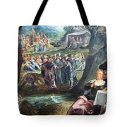 Tintoretto's The Worship Of The Golden Calf Tote Bag
