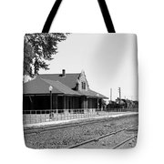 Toppenish Train Station Tote Bag