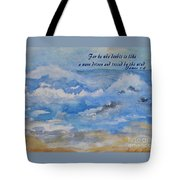 Tossing And Turning Tote Bag