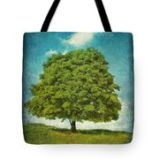 Touching The Cloud Tote Bag