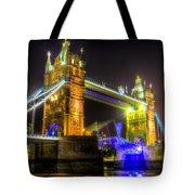 Tower Bridge Opening Tote Bag