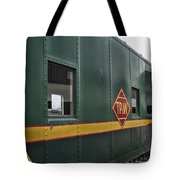 Tpw Rr Caboose Side View Tote Bag