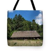 Traditional Polish Cottage House Tote Bag