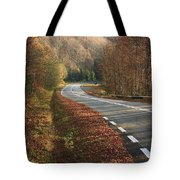 Transfagarasan Road Carpathian Mountains Romania  Tote Bag