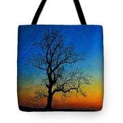 Tree Skeleton Tote Bag