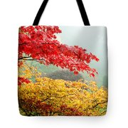Trees In A Garden, Butchart Gardens Tote Bag