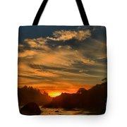 Trinidad Beach Sunset Tote Bag by Adam Jewell