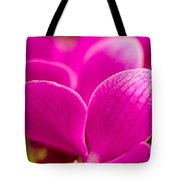 Tropical Orchid Flower Blossoms Tote Bag
