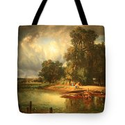 Troyon's The Approaching Storm Tote Bag