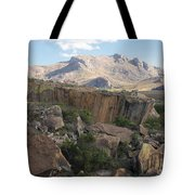 Tsaranoro Mountains Madagascar 1 Tote Bag