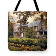 Tudor In Autumn Tote Bag