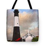 Tybee Lighthouse Tote Bag