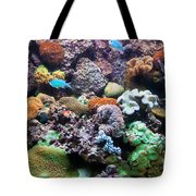 Underwater View Tote Bag