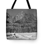 Snowy Yosemite Tote Bag