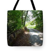 Up Over The Hill Tote Bag