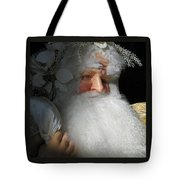 Upscale Father Christmas Tote Bag