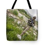 U.s. Army Specialist Walks Tote Bag