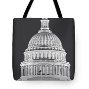 Us Capitol Dome Tote Bag