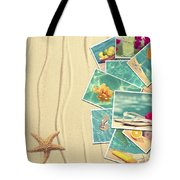 Vacation Postcards Tote Bag