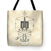 Vacuum Tube Patent 1942 - Vintage Tote Bag