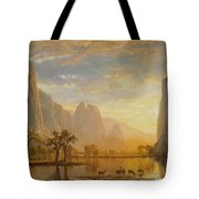 Valley Of The Yosemite Tote Bag