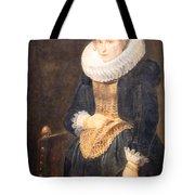 Van Dyck's Portrait Of A Flemish Lady Tote Bag