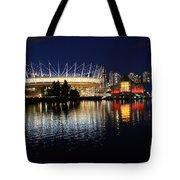 Vancouver British Columbia 3 Tote Bag