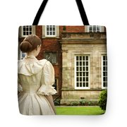 Victorian Woman Tote Bag