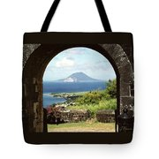 View From Brimstone Hill Fortress Tote Bag