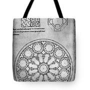 Villard De Honnecourt (c1225-1250) Tote Bag