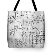 Villard De Honnecourt (c1225-c1250) Tote Bag