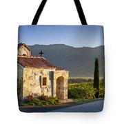 Vineyard Prayer Chapel Tote Bag