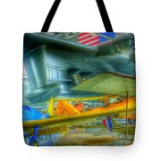 Vintage Airplanes Tote Bag