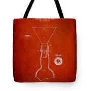 Vintage Bottle Neck Patent From 1891 Tote Bag