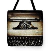 Vintage Olympia Typewriter Tote Bag
