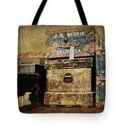 Vintage Trunks #1 Tote Bag