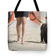 Walking Tote Bag